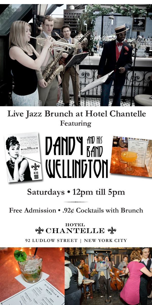 hotel chantelle jazz brunch