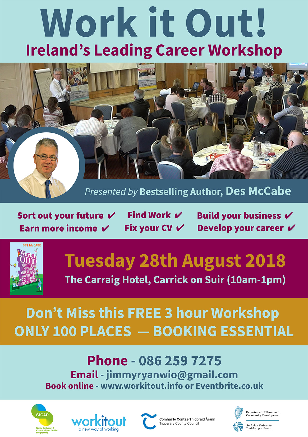 Work it Out! Workshop - Carrick on Suir