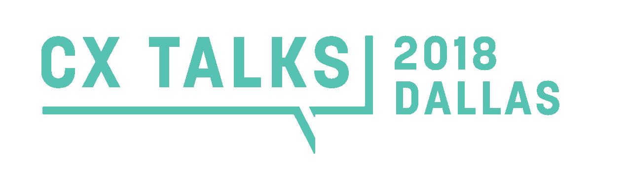 CX Talks Logo