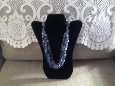 Ladder yarn Necklace