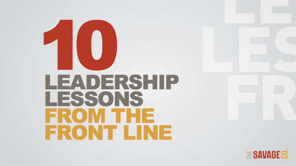 10 Leadership Lessons