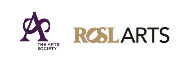 The Arts Society & ROSL ARTS Logos