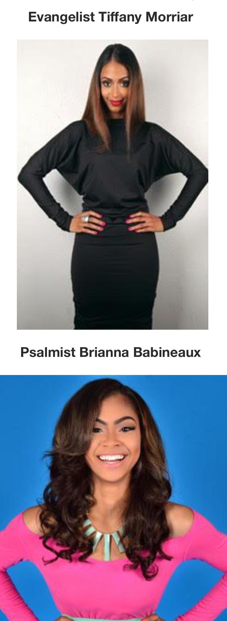Evangelist Morriar and Psalmist Babineaux