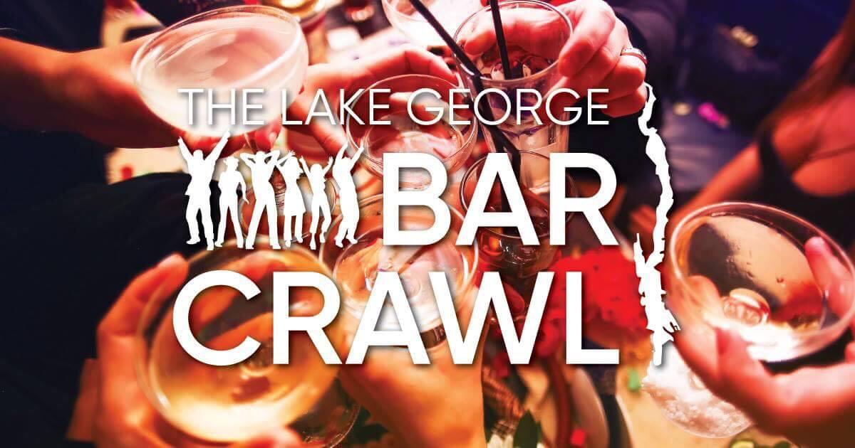 Lake George Bar Crawl Logo