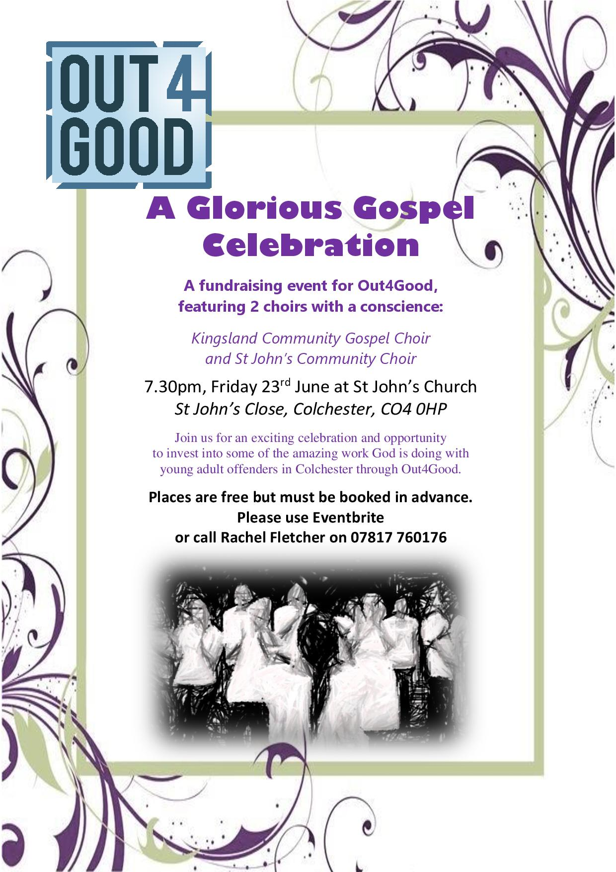 Glorious Gospel Celebration flyer