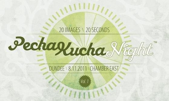 PechaKucha Dundee, Vol 1