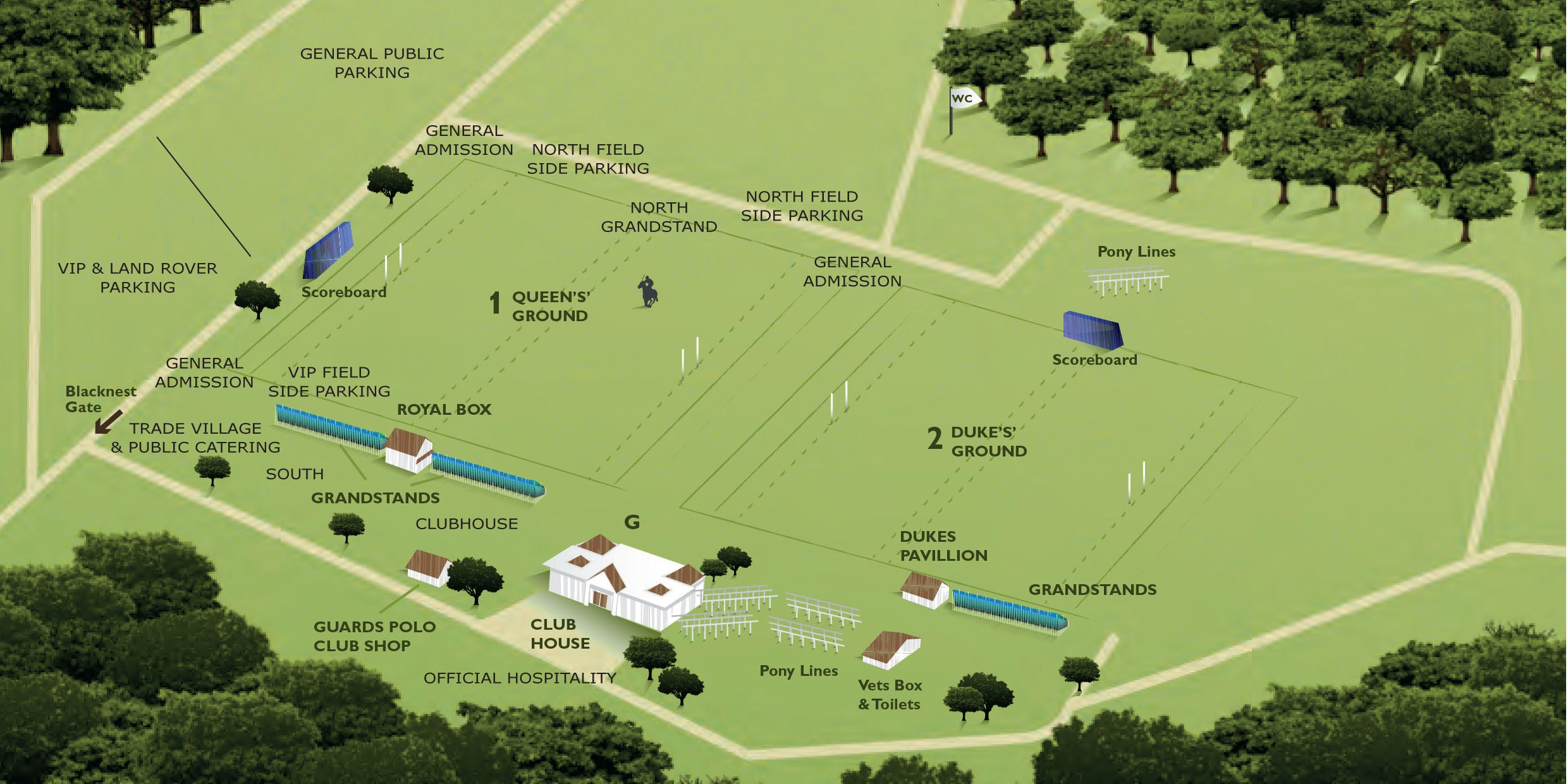 Map of Club