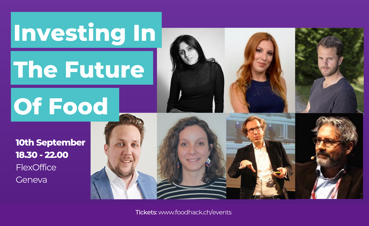 Speakers & Panelists: Investing in the future of food