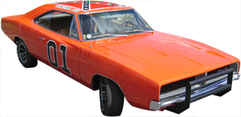 The General Lee comes to Shiawassee Harvest Church