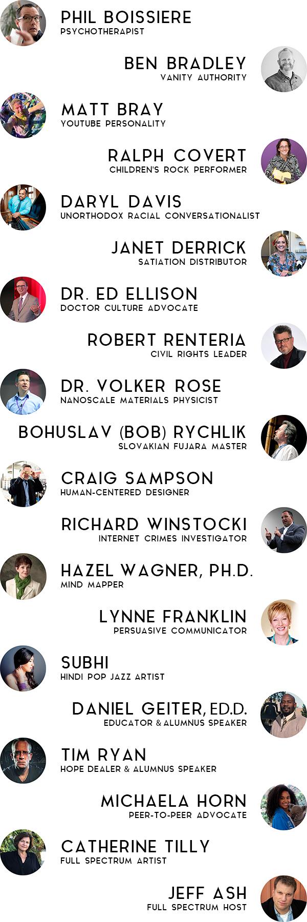 2017 SPEAKERS