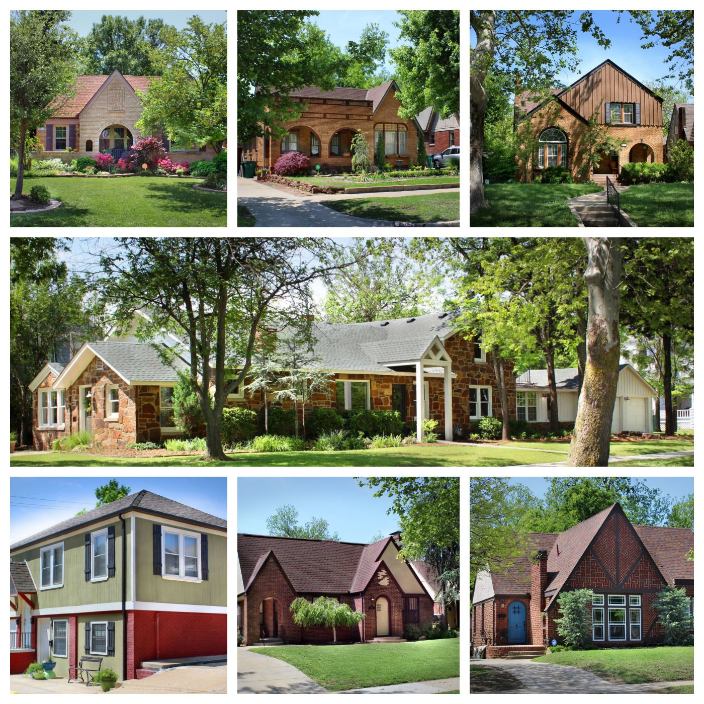 Miller in May Tour Homes Collage