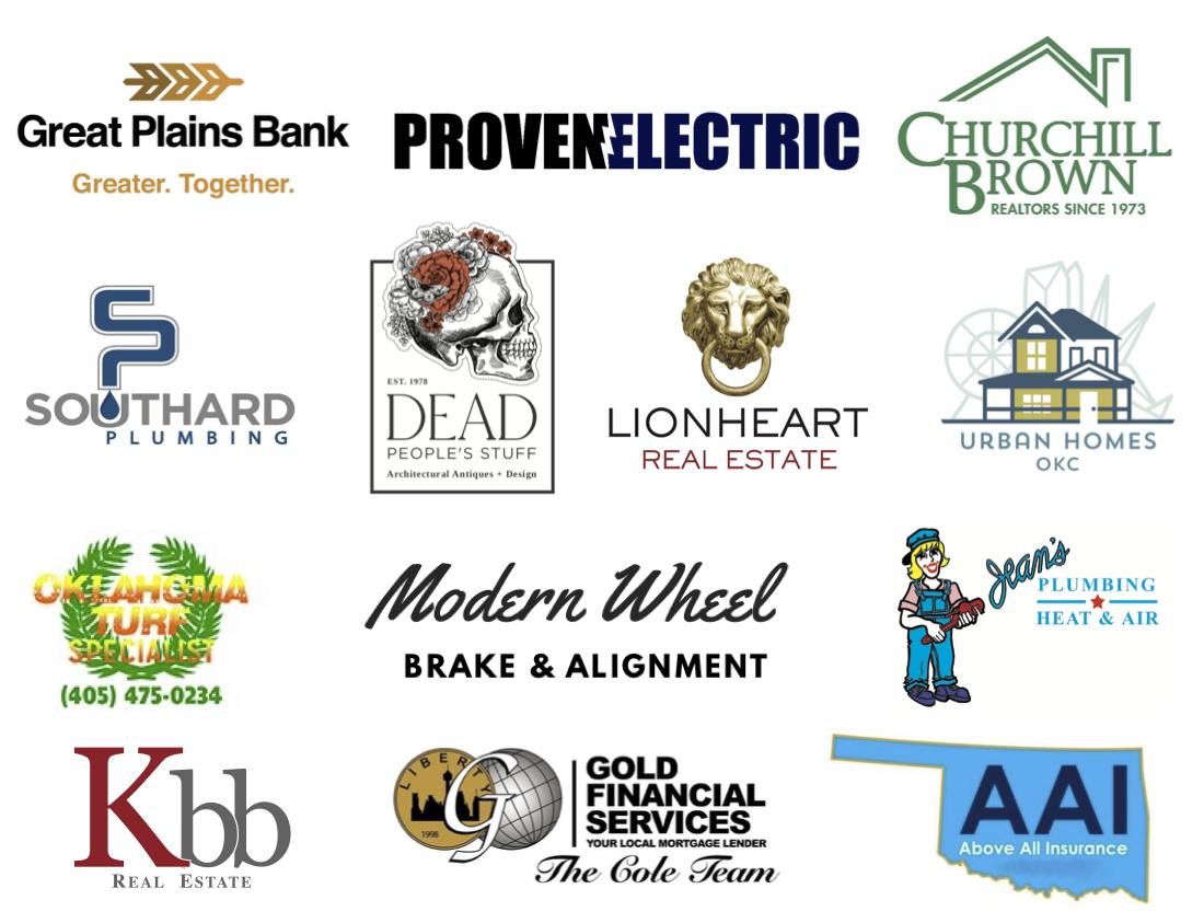 Miller in May Sponsor Logos