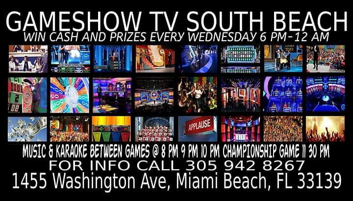 Cash and Prizes Every Hour For more info call 305 942 8267