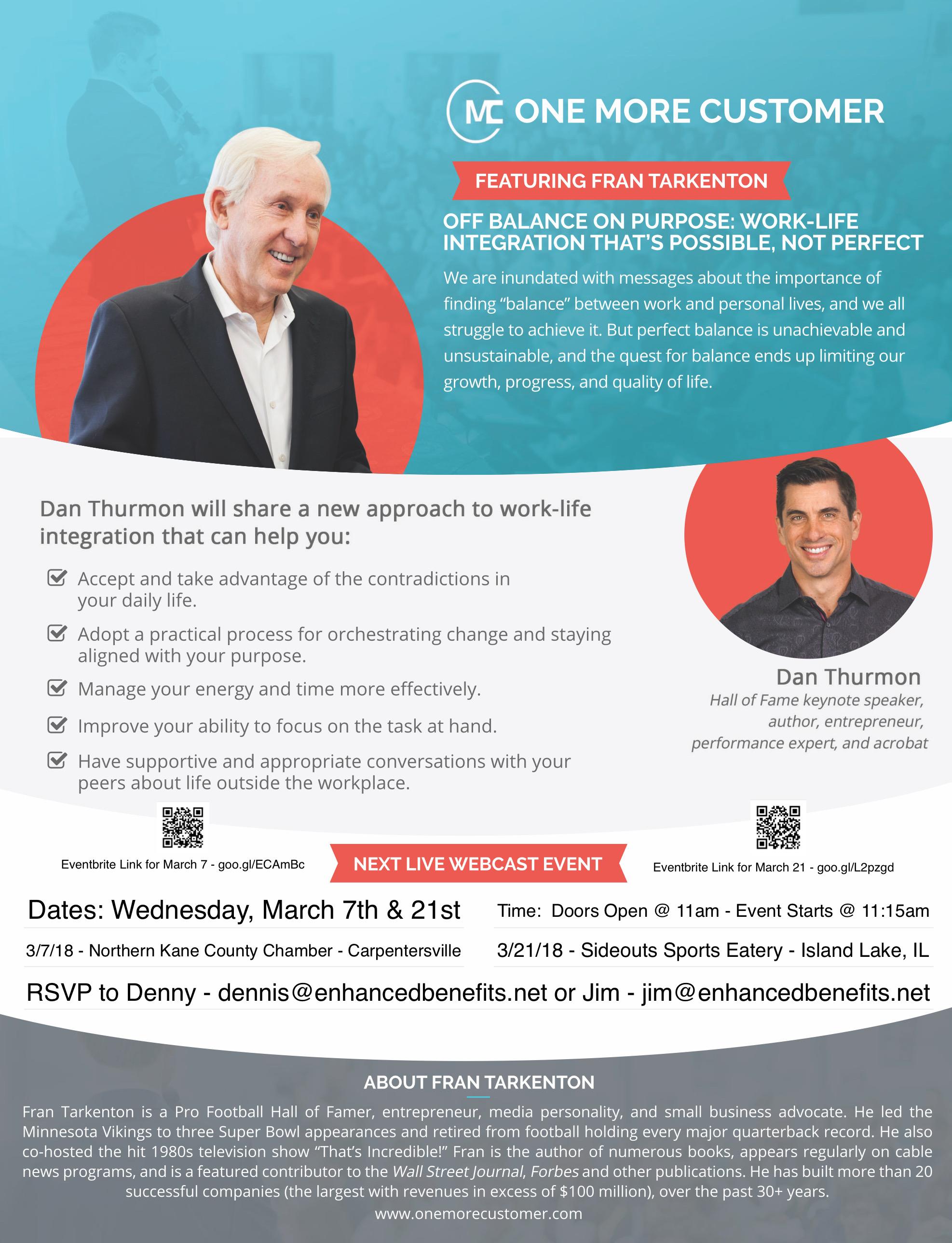 OMC Invite - Dan Thurman