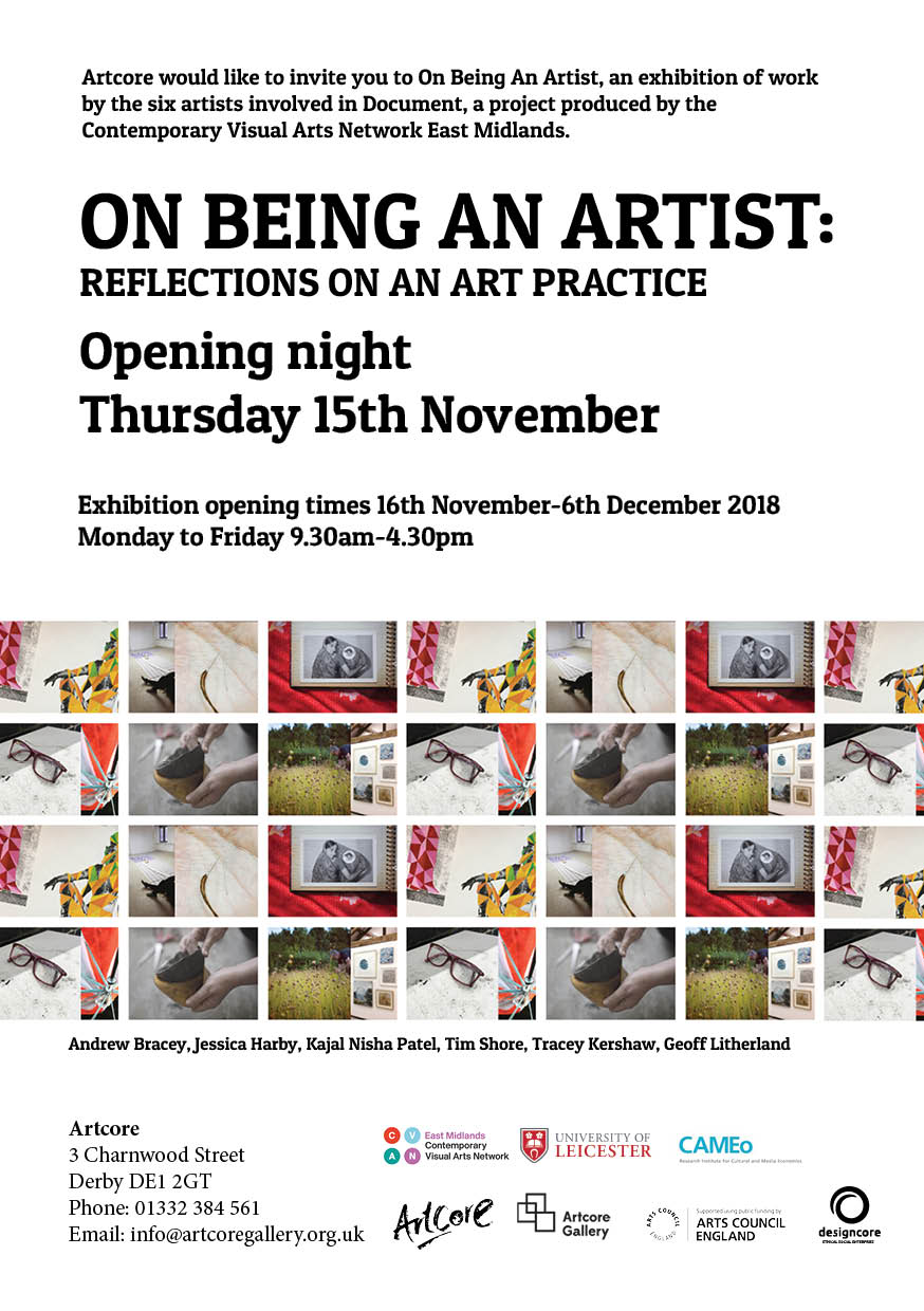 Flyer for the exhibition and launch event