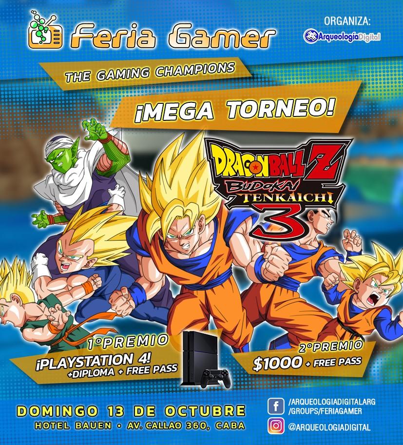 Feria Gamer! / The Gaming Champions! - Mega Evento!