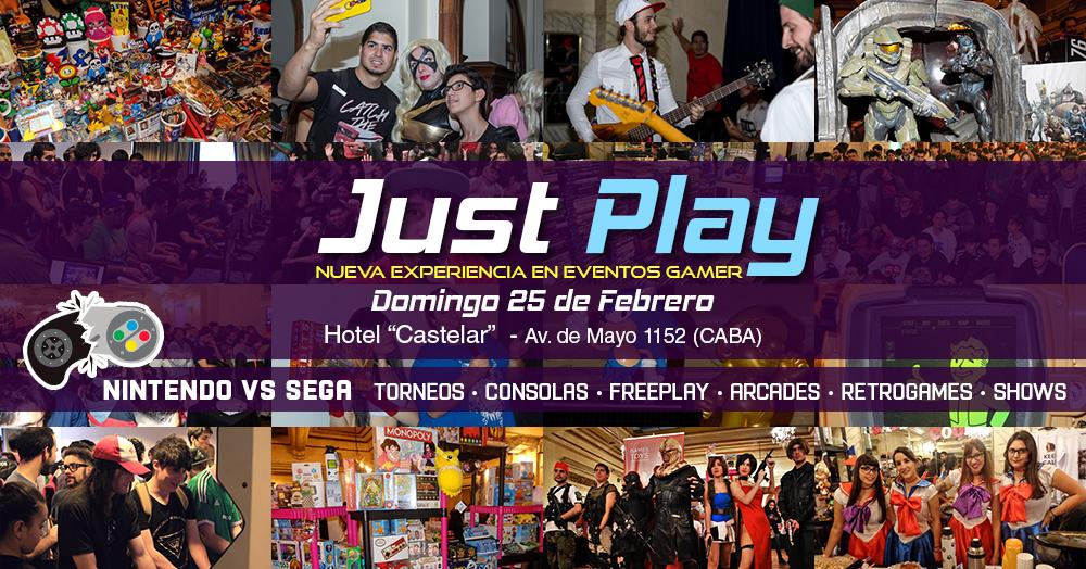 Just Play! - Nintendo Vs. Sega!