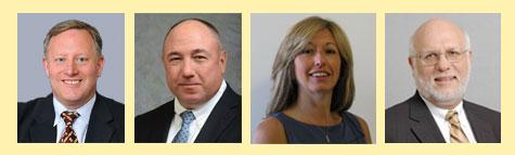 Our panelists - Michael Caljouw, Patrick Jordan, Kristen Lepore, and Richard Lopez