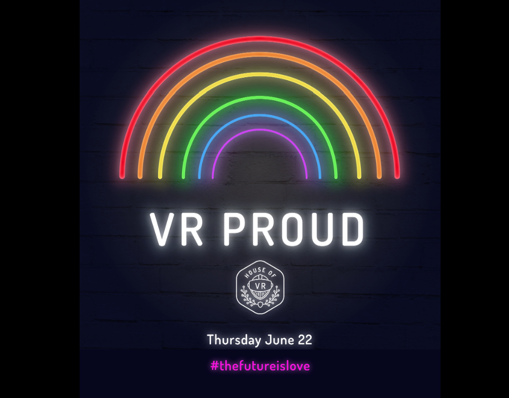 VR Proud Poster