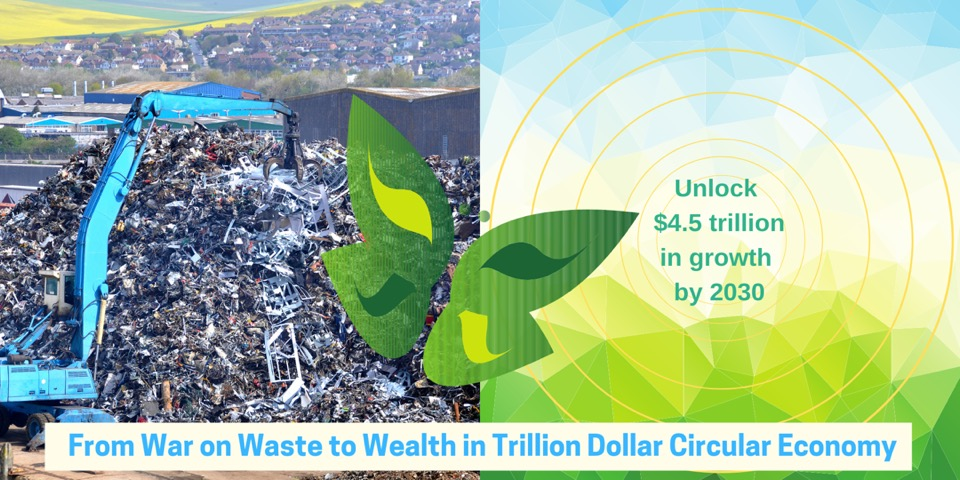 From War on Waste to Wealth in Trillion Dollar Circular Economy