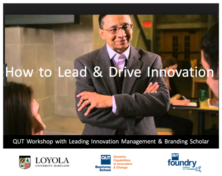 Learn how to lead and drive innovation