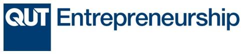 QUT Entrepreneurship logo