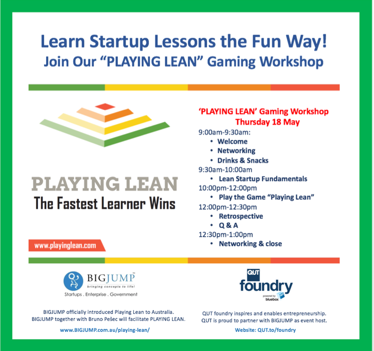 playing lean gaming workshop thursday