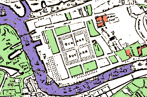 map of queens square