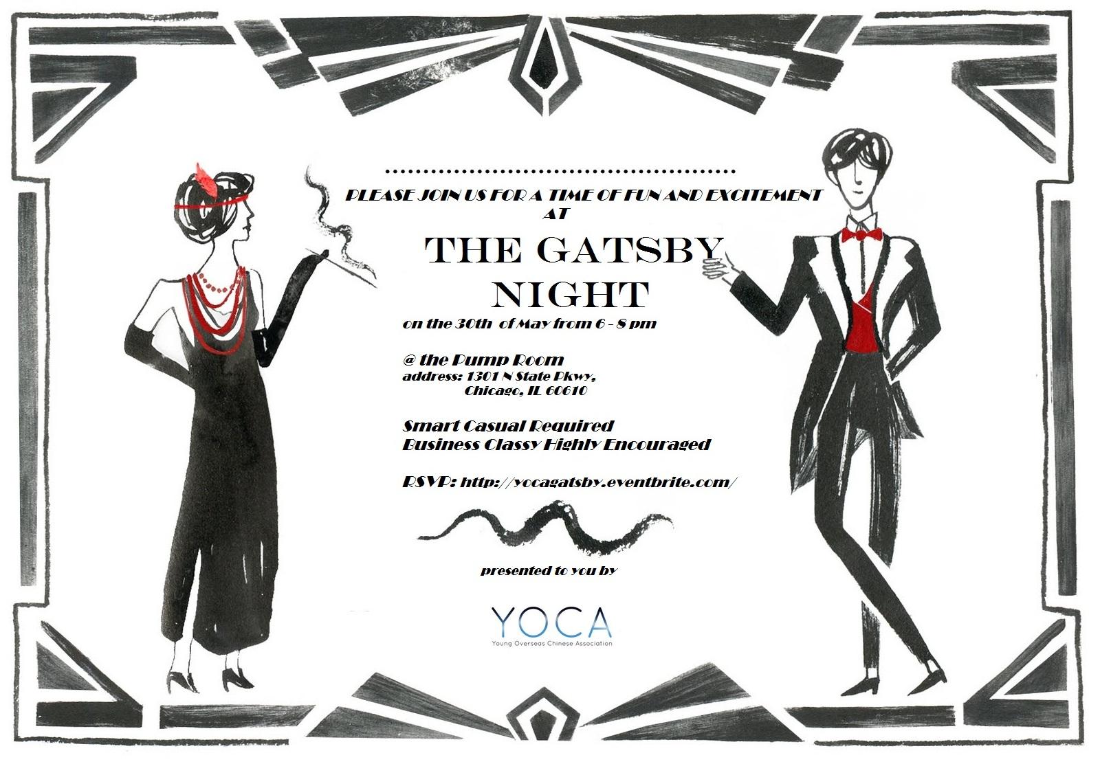 the gatsby night