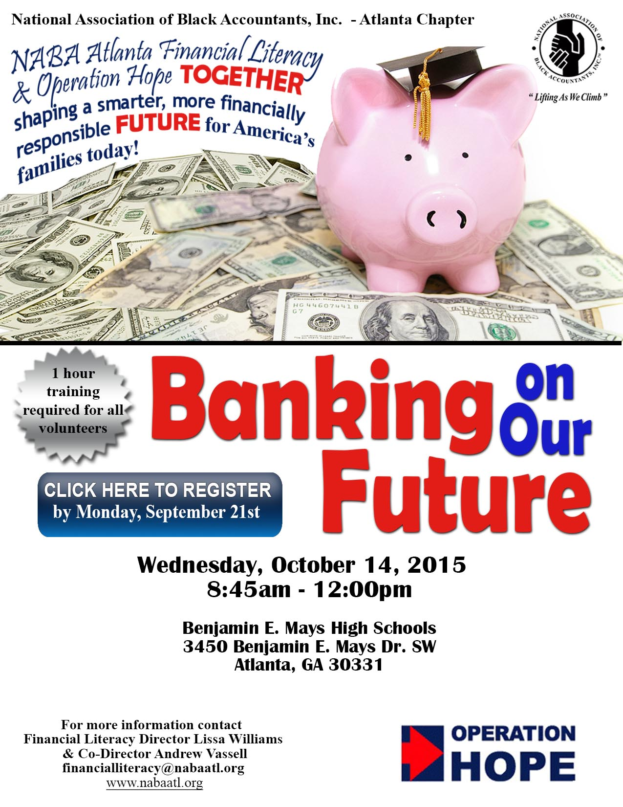 Financial Literacy Committee - Fall 2015