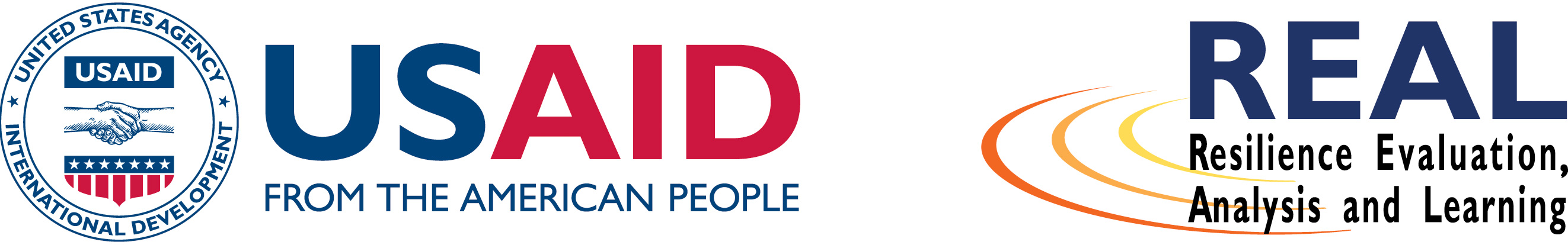Logos for USAID and REAL