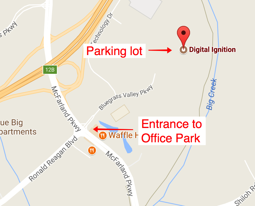 Directions to get to Digital Ignition