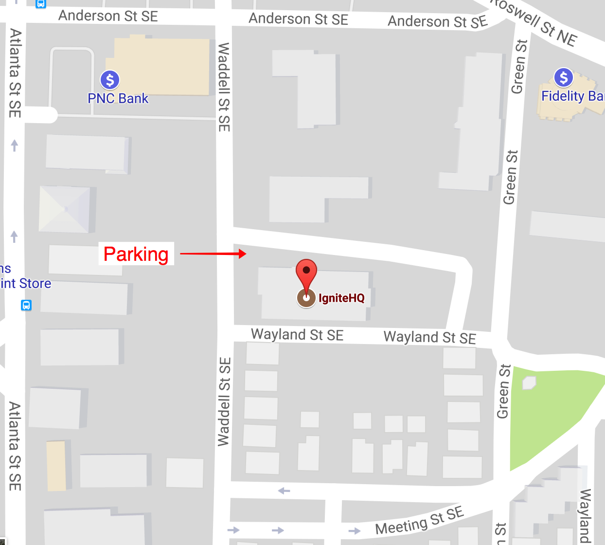 How To Find Us Ignitehq Is A Standalone Building There Is A Free Parking Lot Behind It When You Arrive You Can Check In And Make Your Way To The
