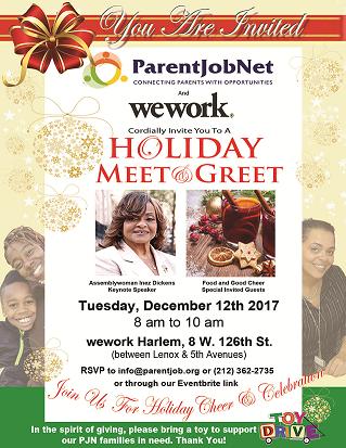 Holiday Meet & Greet Invite