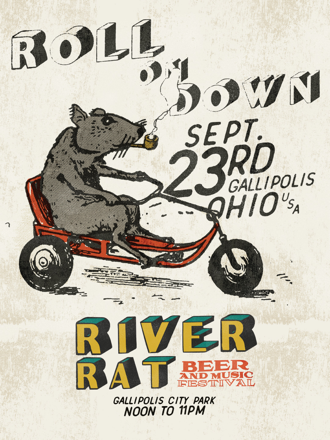 River Rat Roll On Down Promo