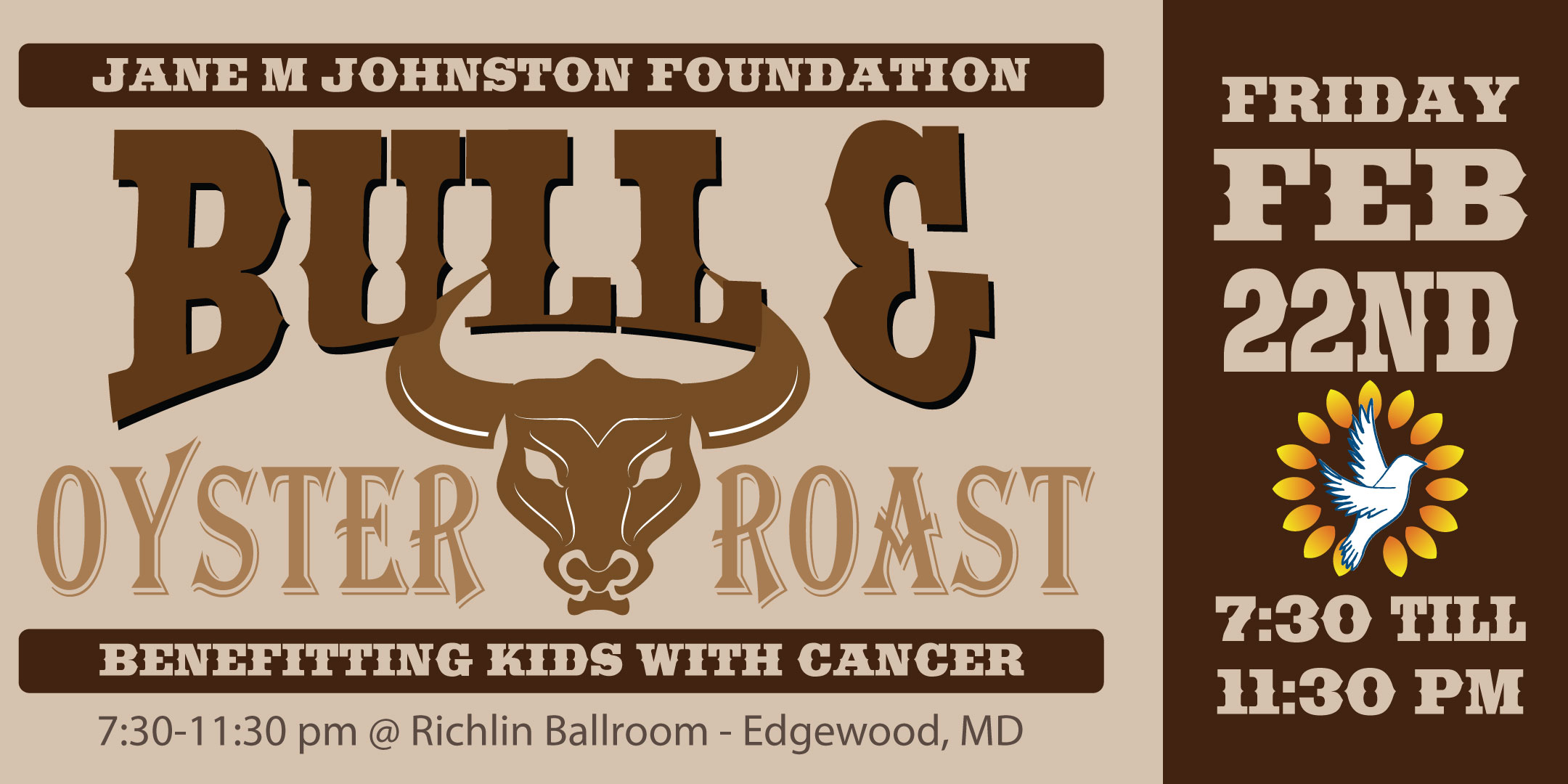 JMJ Bull Roast Invitation