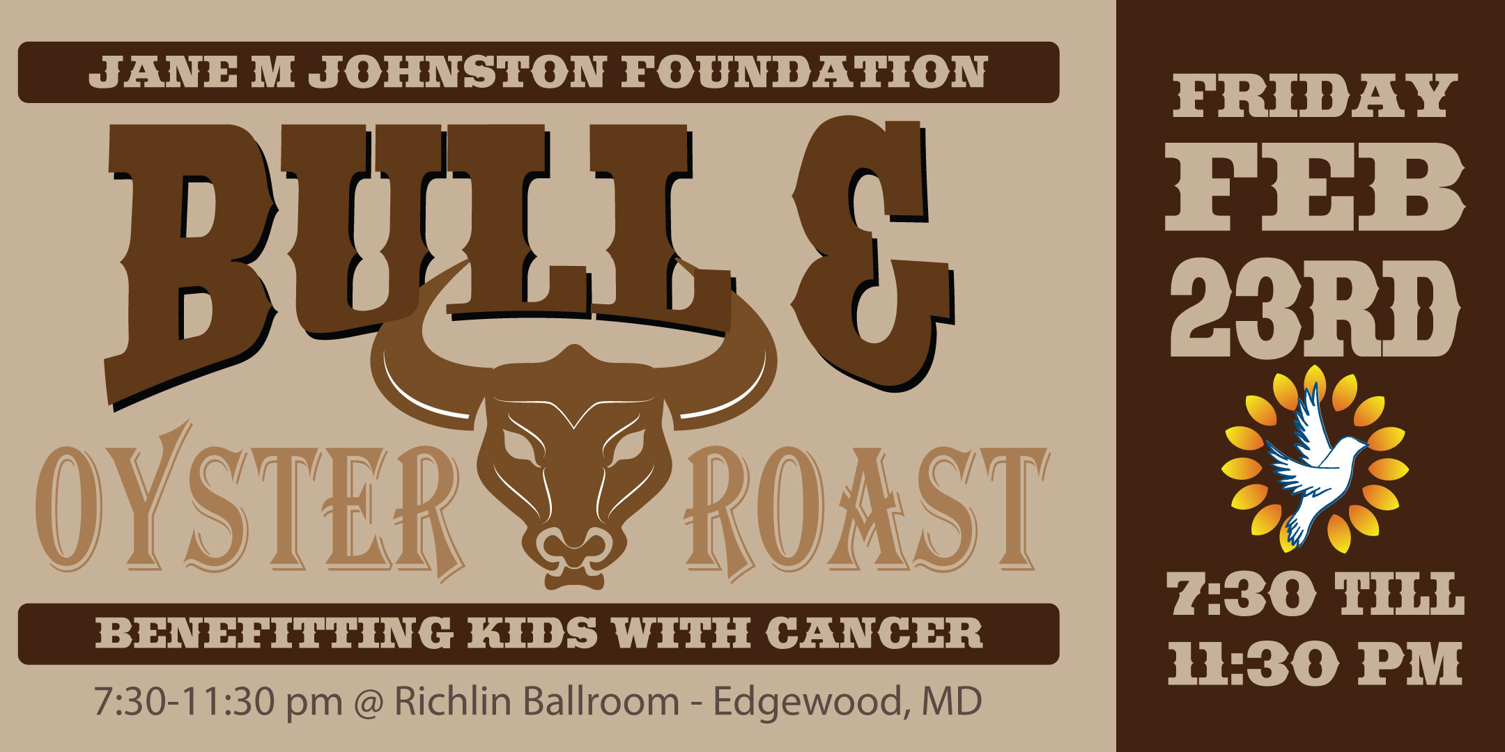 JMJ Bull Roast Invitation