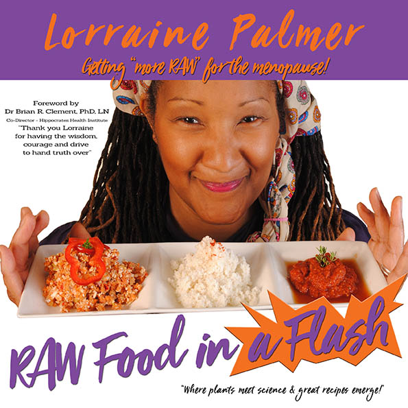 Book cover - Raw Food In a Flash