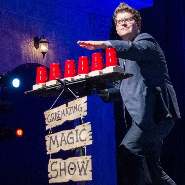 Graemazing Reed Art of Magic Show