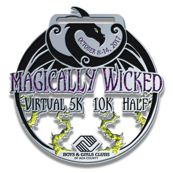 Magically Wicked Race Medal