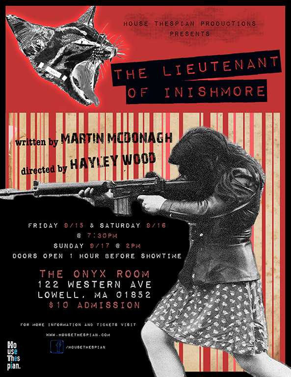 Poster for Lieutenant of Inishmore