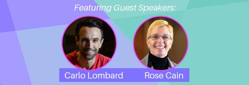 Babies Business + Breakfast Guest Speakers Carlo Lombard and Rose Cain July 31 2019