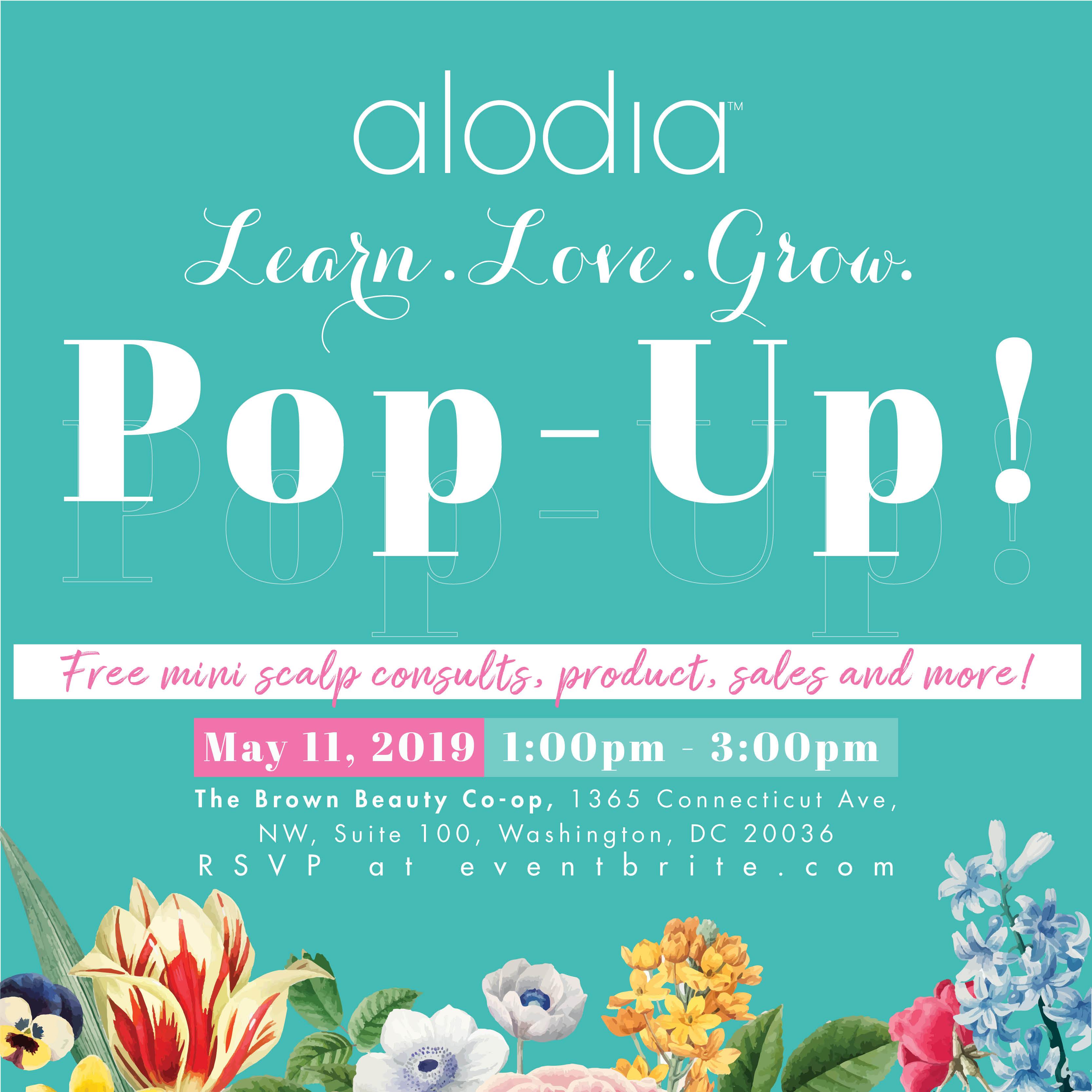 Learn Love Grow! Alodia Hair Care's Spring Pop-Up Event - 11