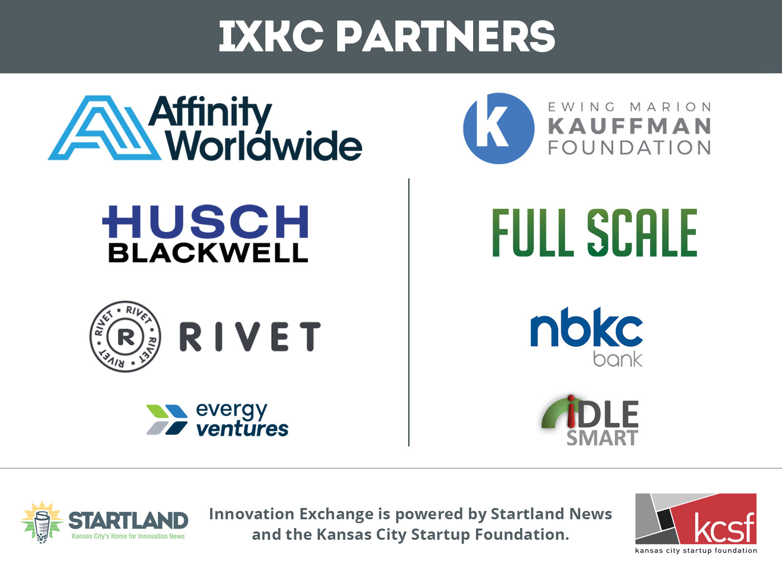 Innovation Exchange Partners of 2019