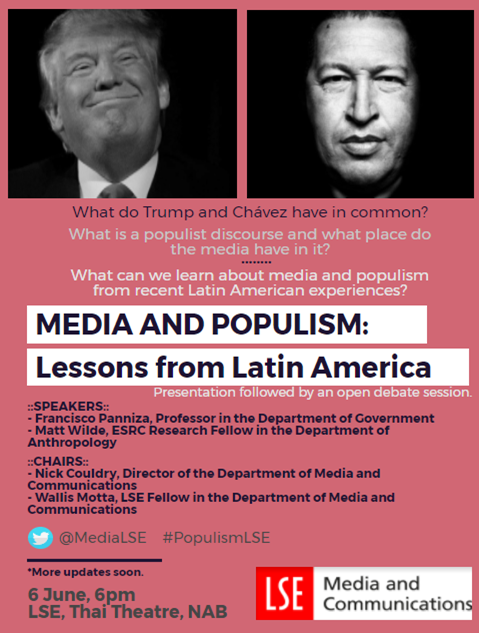 populism in latin america Populism, gender and language examined the importance of latin american  populist movements and how they inform the 2016 united states.