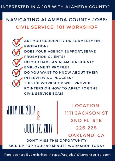 Navigating Alameda County Jobs: Civil Service 101 Registration