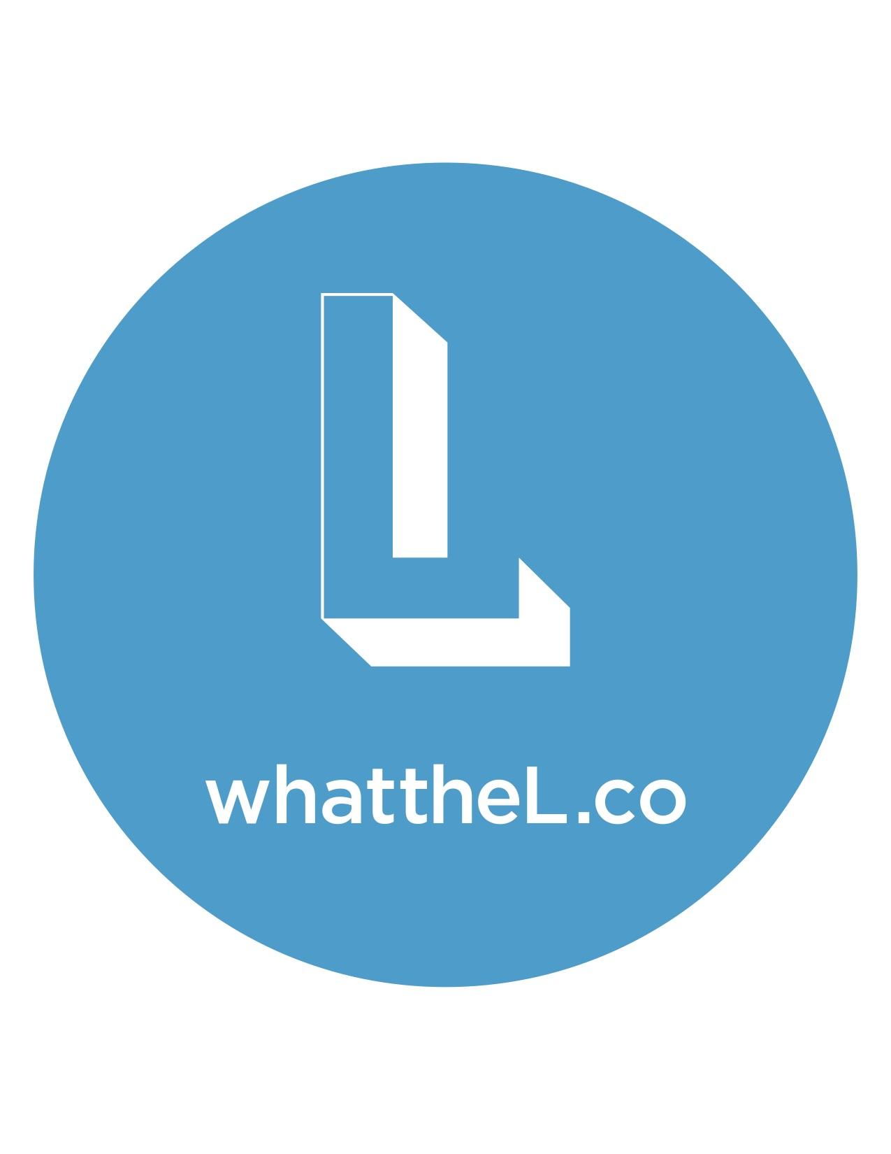 Logan Square L Logo