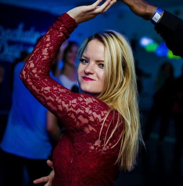 Nicky Jansen met een mooie dans