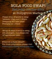 October Nola Food Swap
