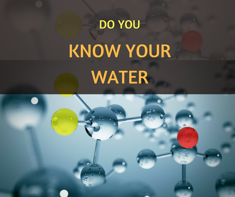 Do you know your water